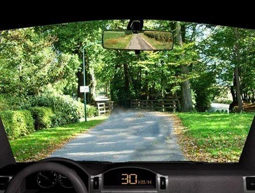 Rruga nëpër të cilën lëvizë automjeti (si në fotografinë) paraqet: